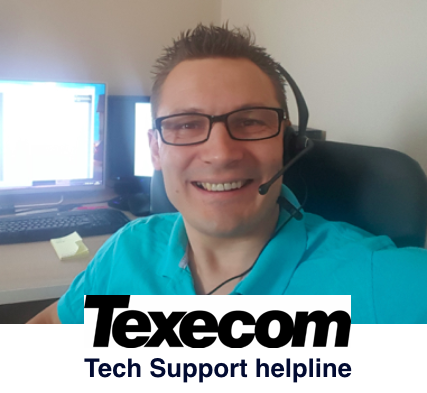 Texecom technical support