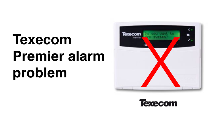 Texecom Premier troubleshooting guide | Smart Security Guide