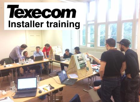 Texecom installer training course