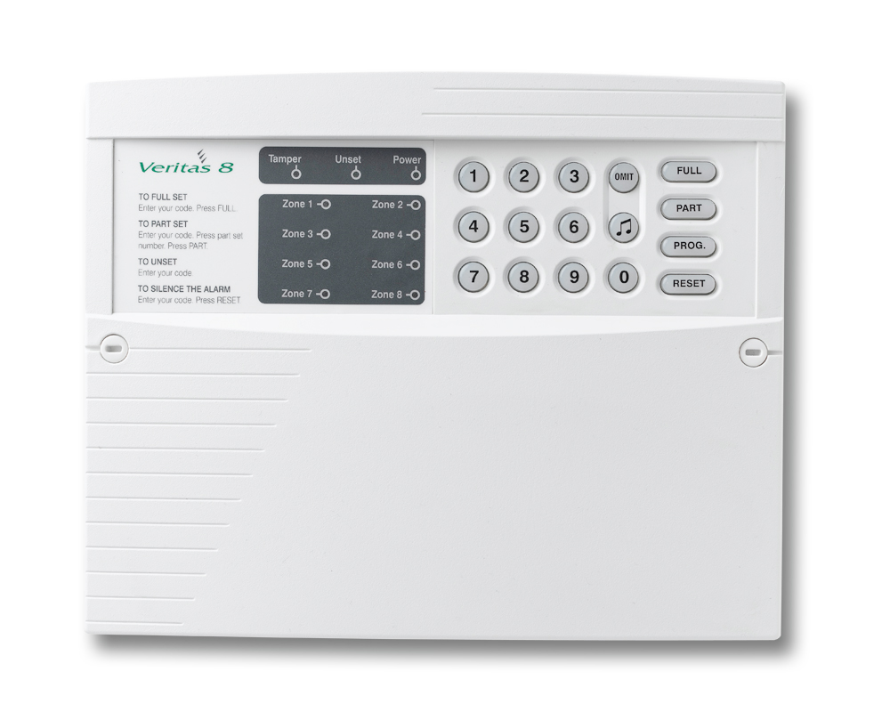 Veritas alarm installation manuals
