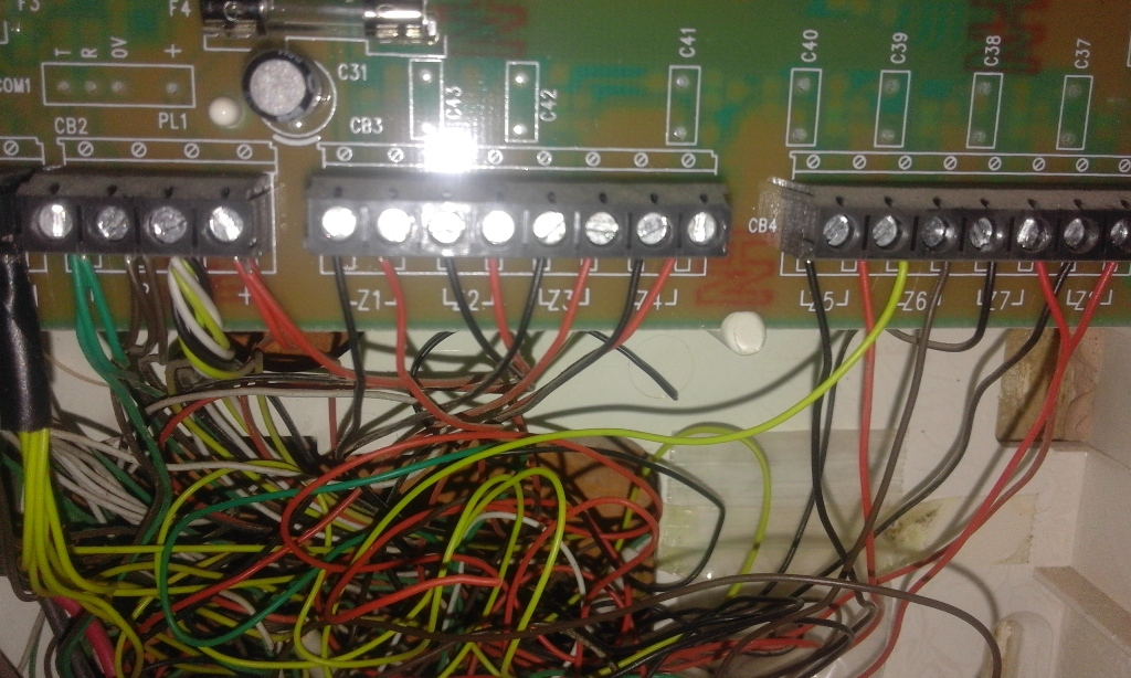 Veritas alarm panel wiring