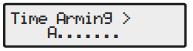 Premier alarm control timers