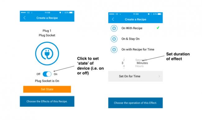 Texecom connect app recipe