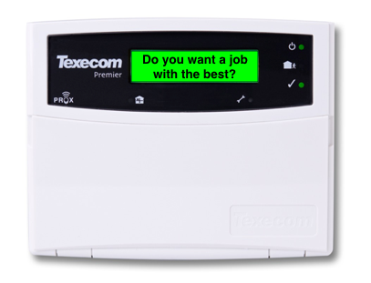 Texecom installer job ad