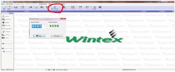 Texecom Premier ANTI-CODE Reset