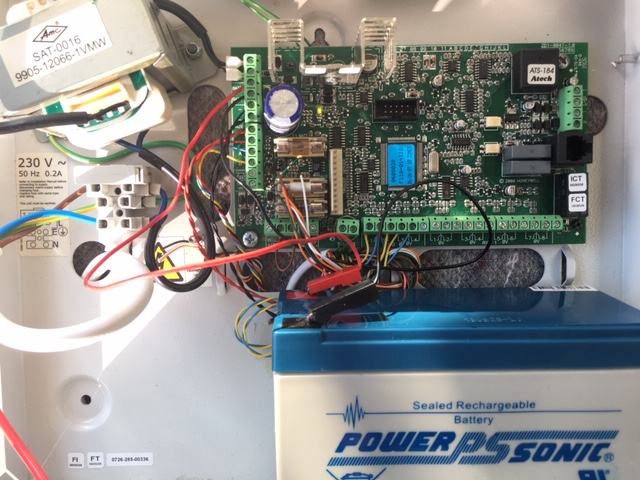 ADT Honeywell Galaxy alarm battery replacement service