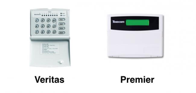 What Texecom alarm do I have?  Veritas or Premier
