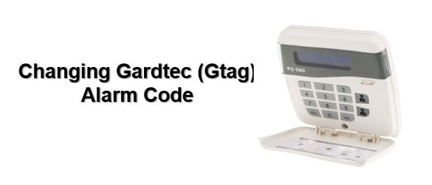 How to change Gardtec alarm code