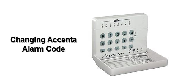 How to change Accenta alarm code