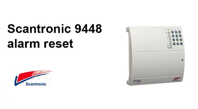 Scantronic 9448 Alarm Reset