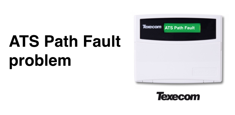 What is ATS Path Fault on Texecom Premier alarm & how to fix